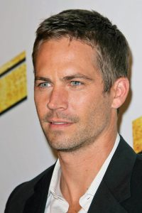 facial shot of paul walker