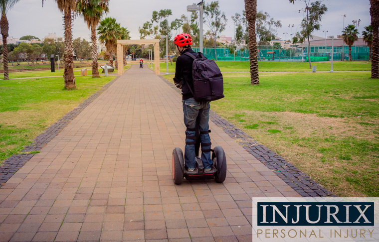 segway accident lawsuits